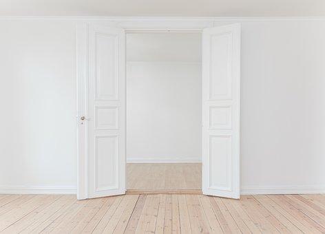 Interior, Indoor, White, Wall, Open, Door, Floor