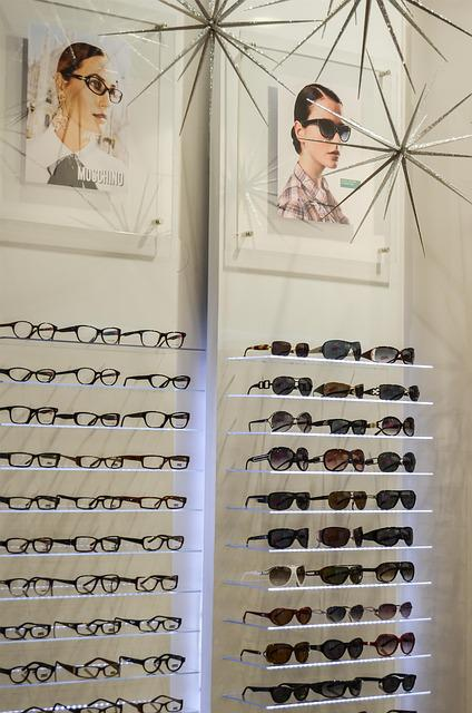 Glasses, Optician, Exhibition, Lenses