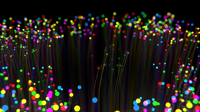 Fibre, Optics, Christmas, Holiday, Multicolor, Blender