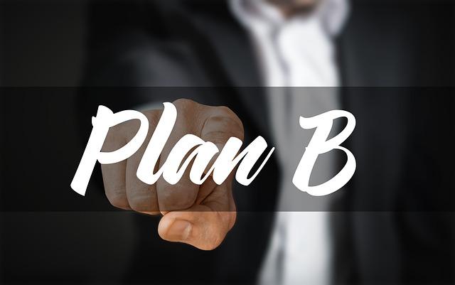 Idea, Plan, Plan B, Age Rnative, Option, Businessman