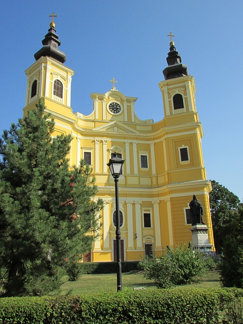 Oradea, Transylvania, Church, Roman Catholic, Basilica