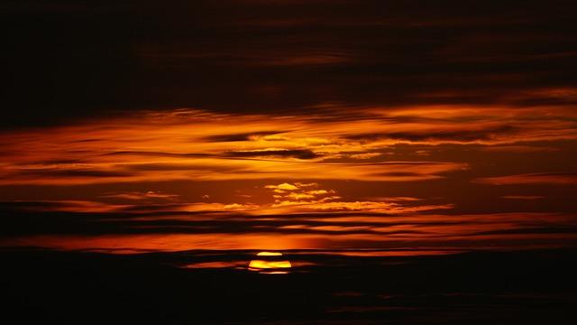 Asaka, Sun, Choi, Sunset, Sky, Orande, Cloud, Dramatic