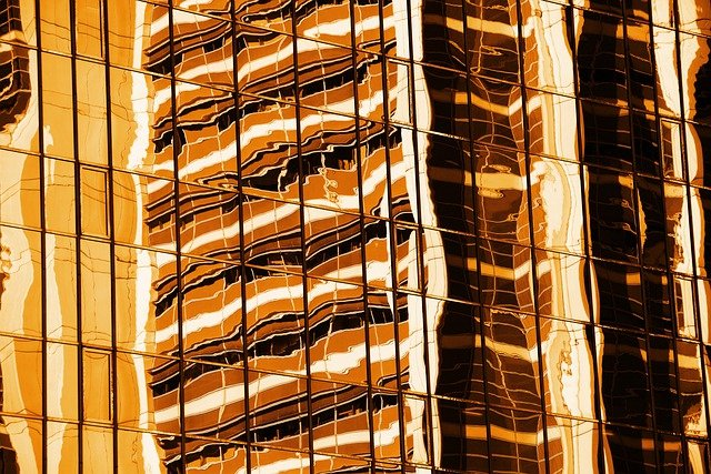 Abstract, Architecture, Background, Orange, Building