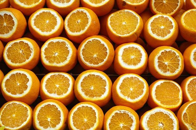 Orange, Yellow, Fresh, Healthy Eating