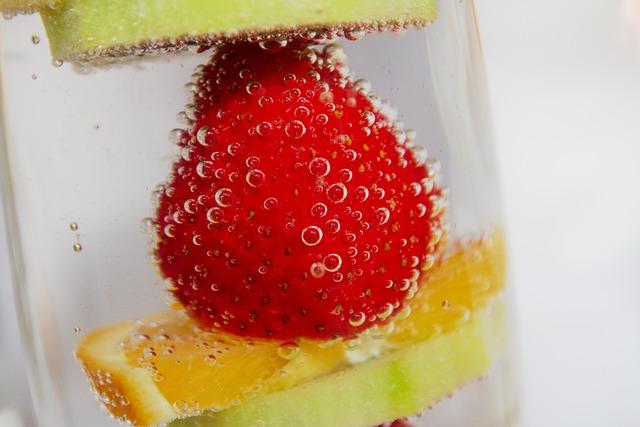 Fruit, Strawberry, Orange, Kiwi, Delicious, Vitamins