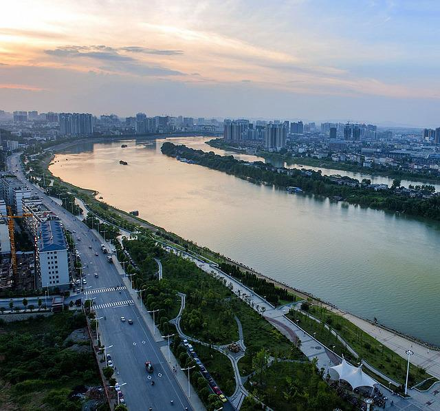 Changsha, Orange Isle, Overlooking The