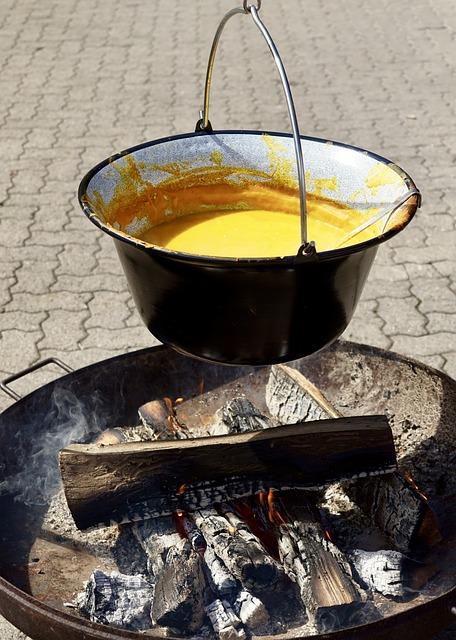 Pumpkin Soup, Soup, Food, Orange, Eat, Delicious, Cook