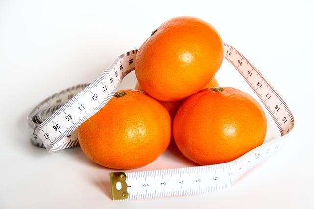 Orange, Fruit, Eat, Tape Measure, Meter, Weight