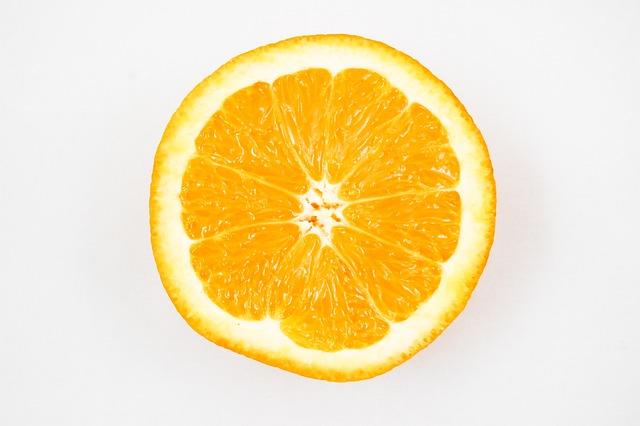 Orange, Fruit, Vitamins, Healthy Eating, Lemon, Half