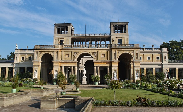 Potsdam, Schloss Sans Souci, Orangery, Castle