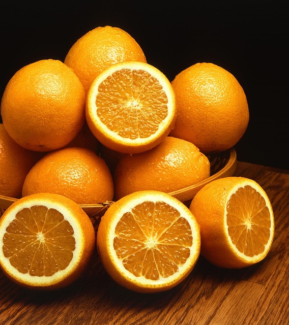 Bowl, Fruit, Oranges, Mandarin, Fruits, Plants, Flora