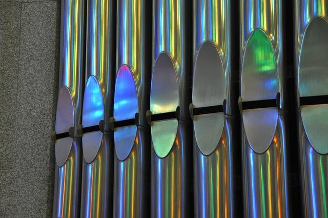 Organ Whistle, Sagrada Familia, Church, Structures