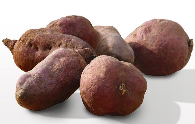Sweetpotato, Food, Healthy, Organic, Whole