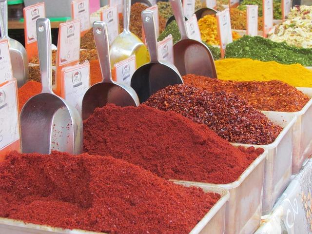Spices, Market, Bazaar, Jerusalem, Food, Spice, Organic