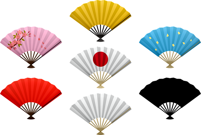 Japanese Fans, Fan, Chinese, Japan, Maple, Origami