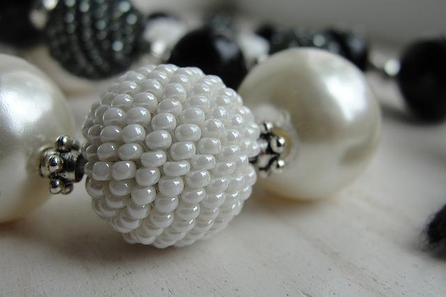 Beads, Chaplet, Ornament, Jewelry