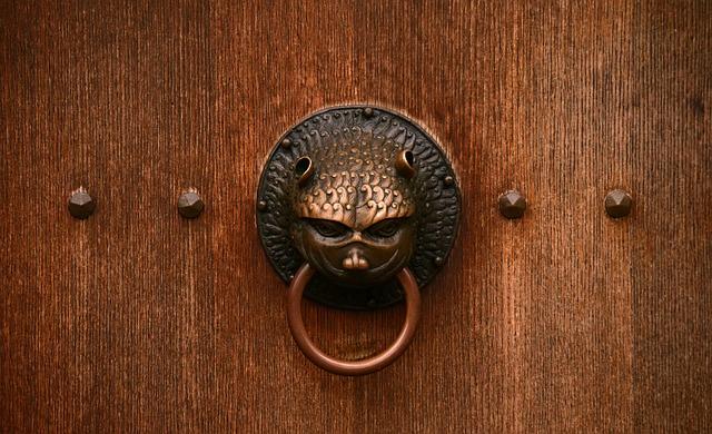 Door, Close, Old Door, Old, Input, Wood, Ornament