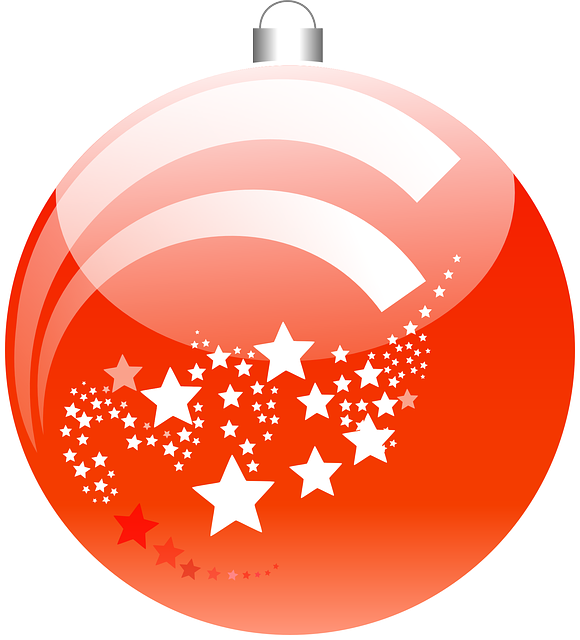 Christmas Ball, Christmas, Ornament, Decoration, Red