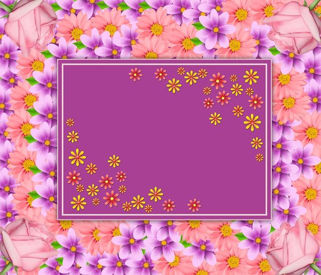 Flower, Ornament, Floral, Background, Texture