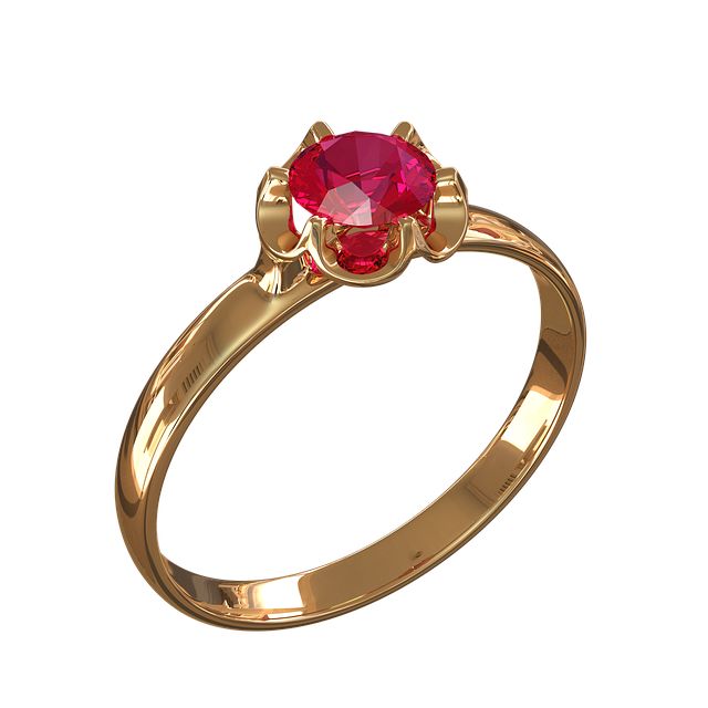 Ring, Ornament, Gold