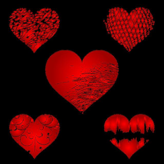 Heart, Hearts, Ornament, Love, Holiday