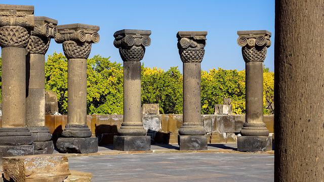 Column, Ornament, Ruin, Historic, Architecture, Church