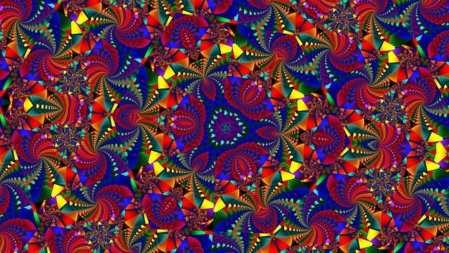 Kaleidoscope, Pattern, Ornament, Kaleydograf, Mosaic