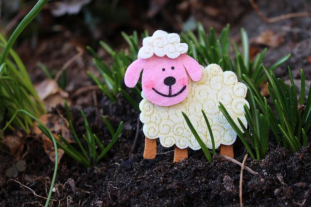 Sheep, Lamb, The Figurine, Decoration, Ornament, Nature