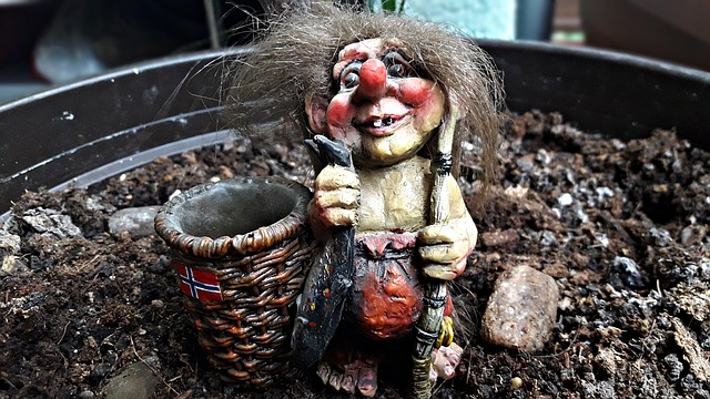 Krasnal, Gnome, Troll, The Figurine, Ornament