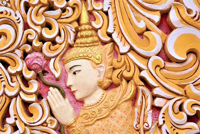 Ornament, Pattern, Art, Traditionally, Buddha