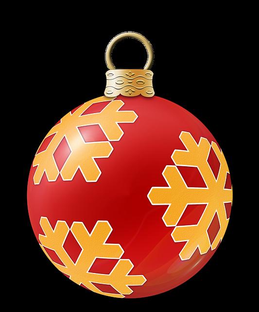 Christmas, Flask, Ornament, Xmas