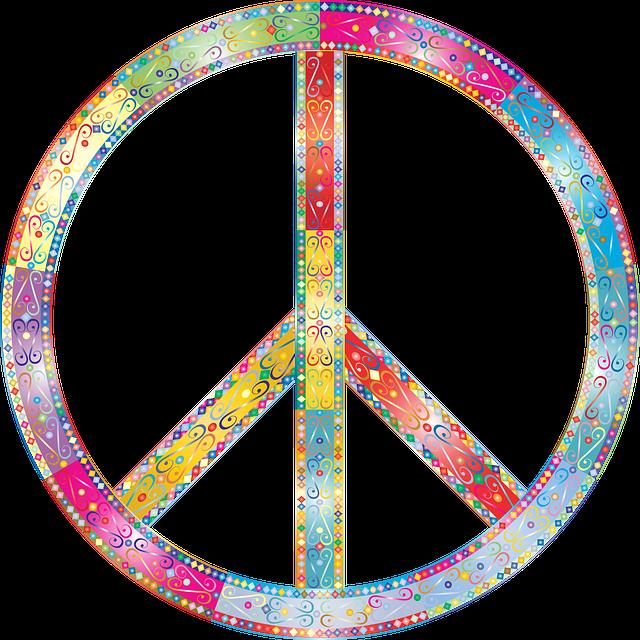 Flourish, Decorative, Peace, Sign, Symbol, Ornamental