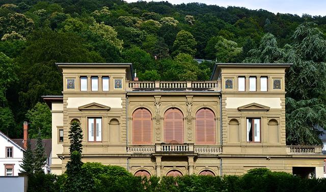 Art Nouveau, Gründerzeit, Villa, House, Ornaments