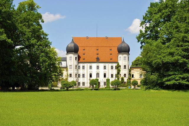 Maxlrain, Castle, Ortenberg, Padlock, Security, Park