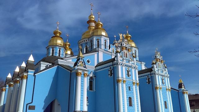 Architecture, Church, Kiev, Religion, Orthodox