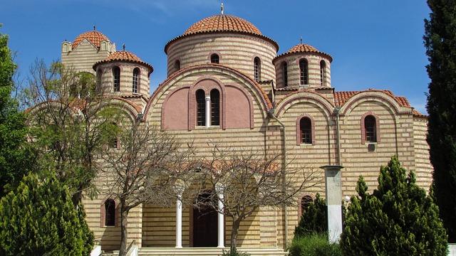 Cyprus, Troulli, Ayios Mamas, Church, Orthodox