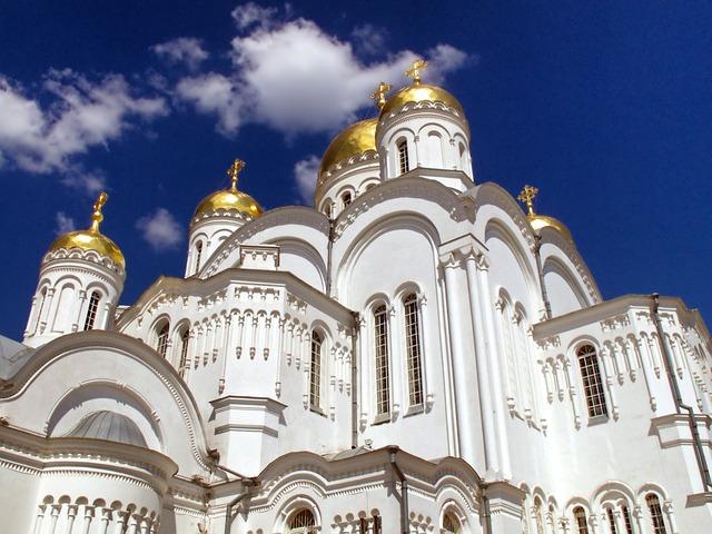 Diveevo, Russia, Church, Orthodox, Religion, Faith