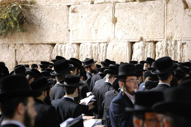 Jerusalem, Wall, Western Wall, Orthodox, Praying, Jew