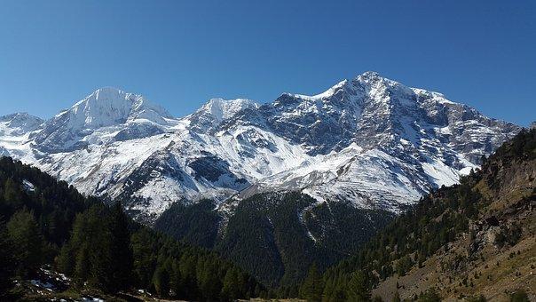 Ortler, Königsspitze, South Tyrol, Zebru, Gran Zebru