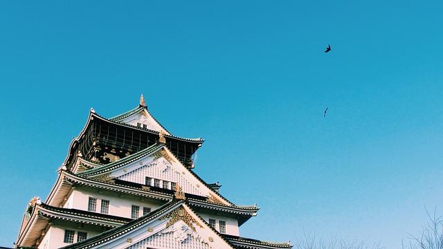 Japan, Building, Osaka Castle