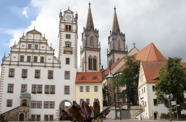 Oschatz, Town Hall, Gottfried Semper