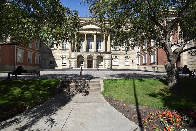 Osgoode Hall, Toronto, Court, Courthouse, Legal