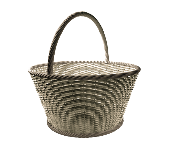 Basket, Wicker Basket, Wicker, Osterkorb, Basket Ware