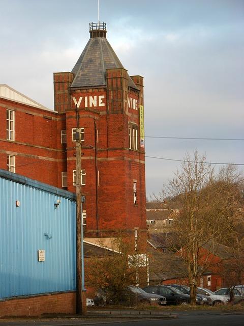 Lancashire, Oswaldtwistle, Vine Mill, Mill, Industry