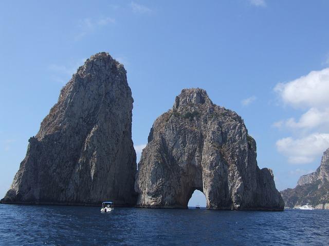Sea, Ocean, Coast, Rocky, Outcrops, Tourism