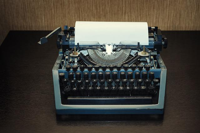 Typewriter, No One, Retro, Type, Outdated