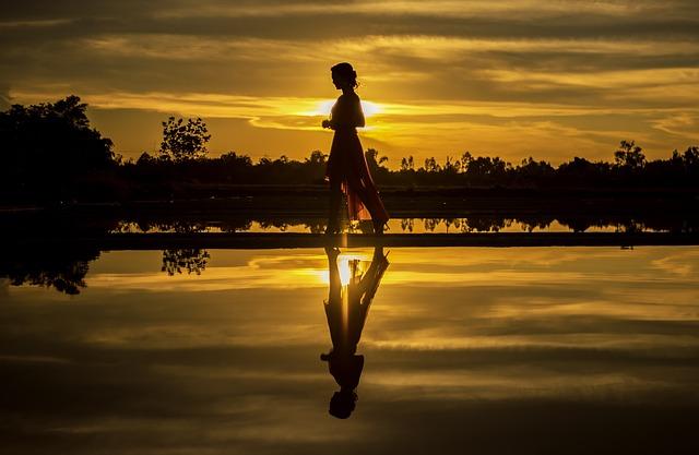 Beach, Coastline, Dawn, Girl, Human, Nature, Outdoor