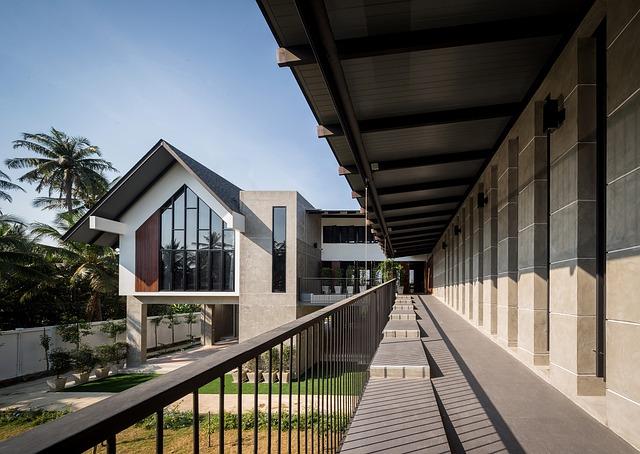 Villa, Outdoor, Building