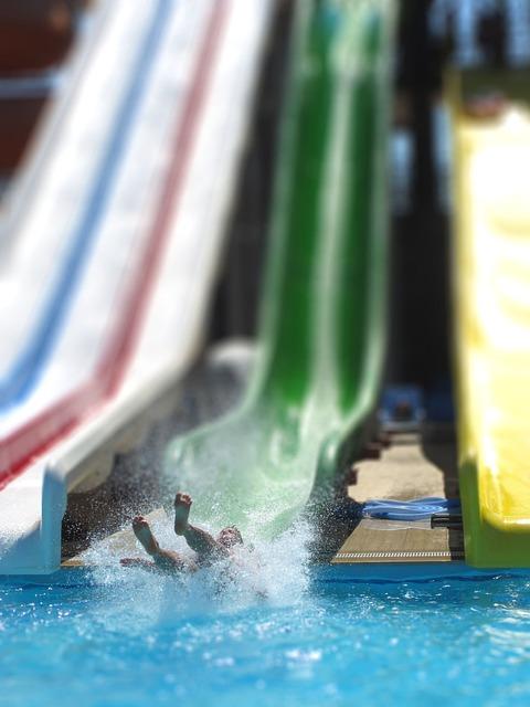 Slide, Swimming Pool, Outdoor Pool, Water Slide, Slip