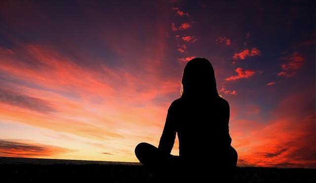 Silhouette, Sky, Sunset, Nature, Landscape, Outdoor